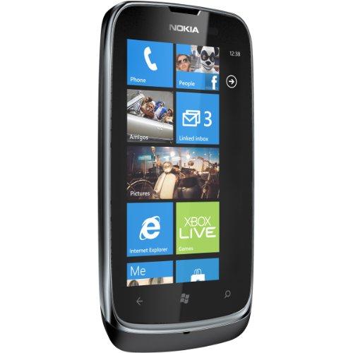 "Foto Nokia Lumia 610 Smartphone, Tri Band, Display da 3.7"", Fotocamera da 5 MP, Bluetooth, Nero"