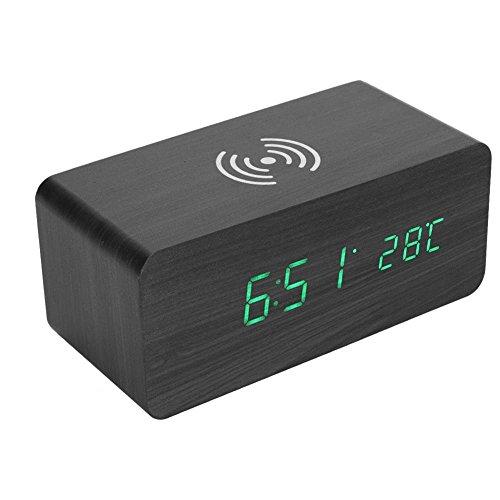 Vbestlife Qi Wireless Charging Altavoz Despertador