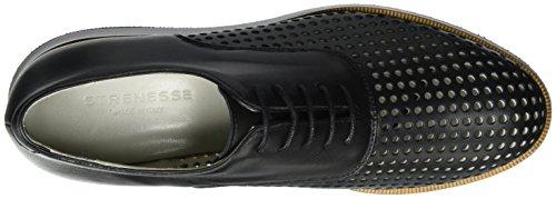 Strenesse Shoe Meta, Derby femme Schwarz (Black)