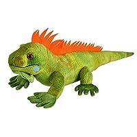 Wild Republic 12905 Iguana Plush Soft, Cuddlekins Cuddly Toys, Gifts for Kids 30cm