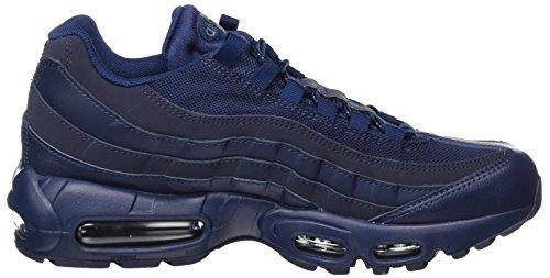 Nike Air Max 95 Essential, Sneaker Uomo Blu (Midnight Navy/Midnight Navy/Obsidian)