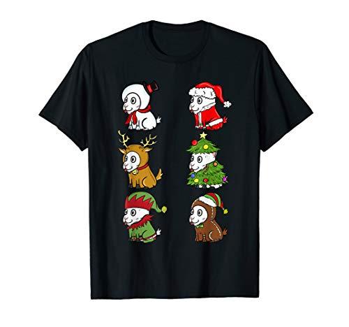 Ziege Kinder Kostüm - Ziege Xmas Kostüme Lustiger Haustier Weihnachten Geschenk  T-Shirt