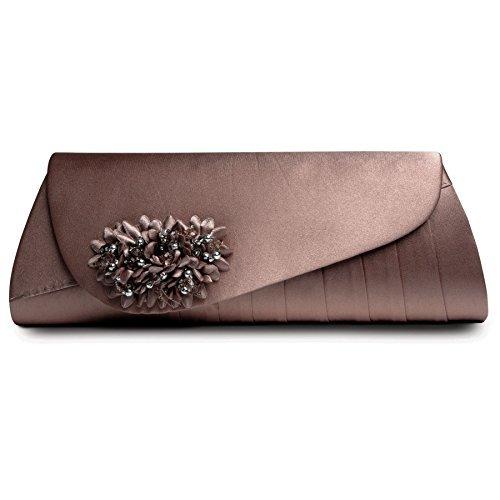 Sapphire Boutique by Sapphire , Escarpins pour femme Taupe (sac)
