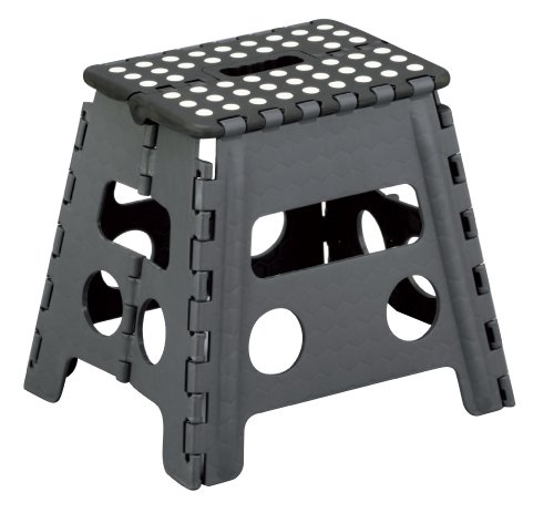 zeller-99161-tabouret-pliant-en-plastique-noir-anthracite-37-x-30-x-32-cm