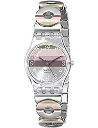 Swatch Irony Damen-Armbanduhr Metallic Dune Lk 258G