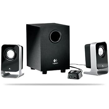 Logitech LS21 2.1 Stereo Speaker System  Haut-parleurs 2.1 7 watts Noir