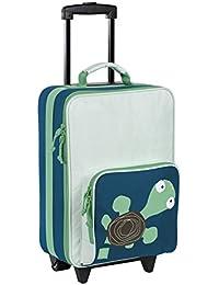 Lässig stabiler Kinder Reisekoffer/Kindertrolley mit separatem Schuh-/Wäschebeutel