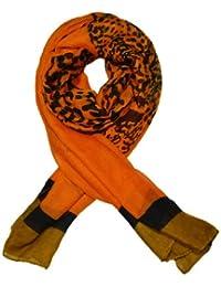 Ladies elegant and Fashionable viscose printed scarf - LEOPARD PRINT