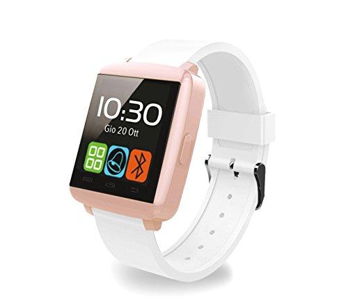 Smartwatch Bluetooth Techmade TechWatchONE Mini Pantalla Táctil 1.44' micrófono - Dorado