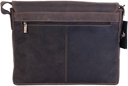 Visconti - Sac Pour Ordinateur Portable Chasseur Messager A4 33cm 18516 Marrone Cerato