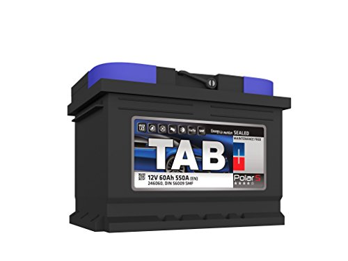 TAB Batterie Voitures Polar S Démarrage S60 L2B 12 V 60AH 500 AMPS (en)