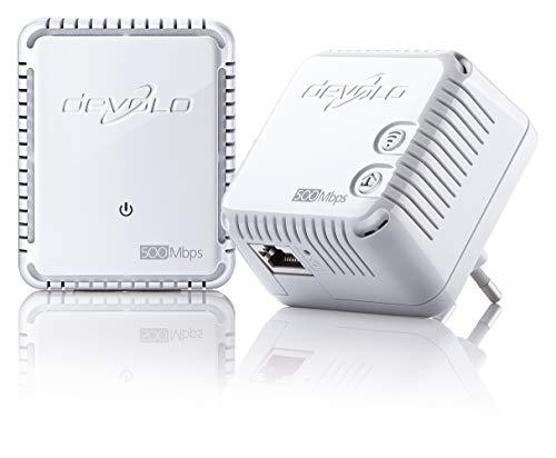 Devolo dLAN Netzwerk-Stecker weiß 500 Mb/s sans Prise Gigogne