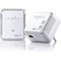 Devolo 9084 dLAN 500 WiFi, Prise Réseau CPL WiFi (500 Mbit/s, 2x Adaptateurs, 2x Ports Fast Ethernet, Ampificateur WiFi, Augmenter Portée Wifi, Courant Porteur, WiFi Move) - Kit de Démarrage, Blanc