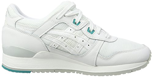 Asics H5b4n-0101 Gel-lyte Iii, Chaussures de Running Entrainement mixte adulte Blanc (white/white-0101)