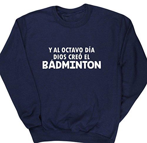 HippoWarehouse Y Al Octavo Día Dios Creó El Bádminton jersey sudadera suéter derportiva unisex niños niñas