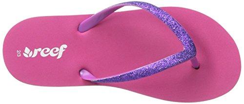 Reef Little Stargazer, Flip-flop fille Rose (Pink/Purple)