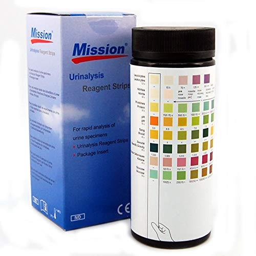 Cystitis Test Kit Urin-Dip-Tests für Blut, Eiweiß, Blut und weiße Zellen