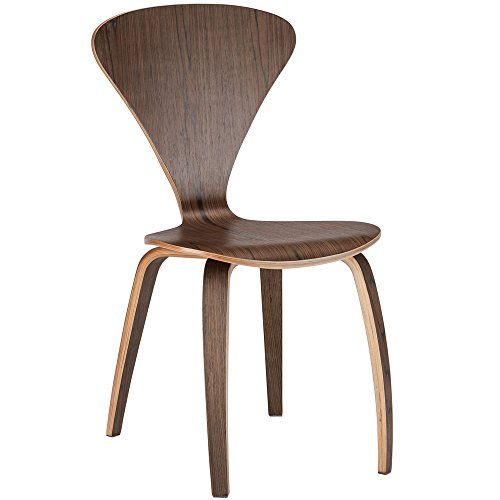 Poly and Bark Sofia Side Chair, Walnut