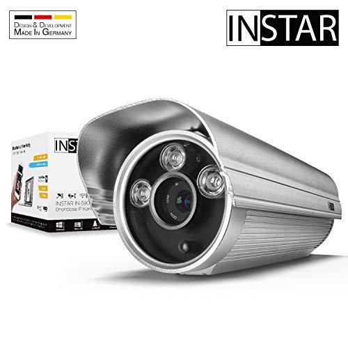 INSTAR IN-5907HD (PoE) silber - PoE Überwachungskamera - IP Kamera - wetterfeste Außenkamera - Aussen - Alarm - Eingang - Ausgang - Bewegungserkennung - Nachtsicht - 802.3af - RTSP - ONVIF