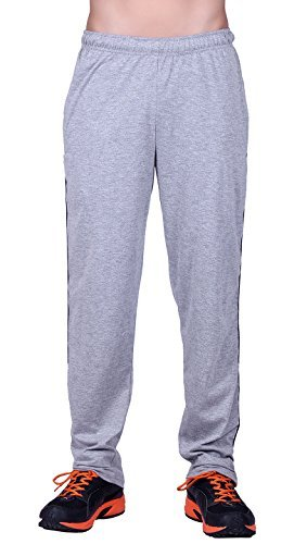 DFH Men's Premium Cotton Grey Track Pant