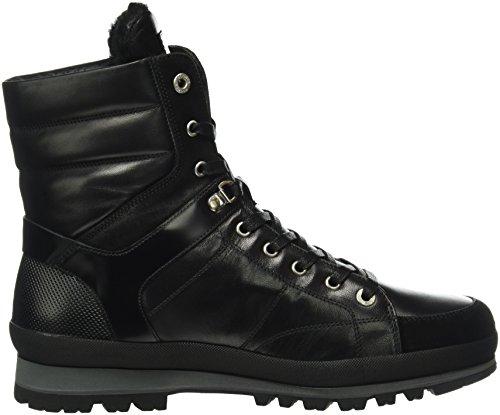 Bogner St. Anton M5d, Bottes mi-hauteur avec doublure chaude homme Noir - Noir (01)