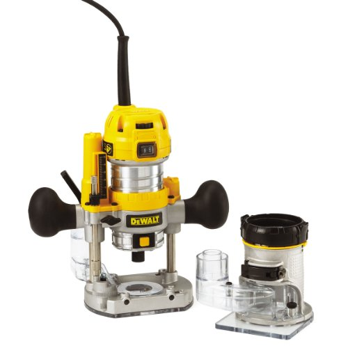 Preisvergleich Produktbild DeWalt DEWALT D26204K Kombination Plunge & Fixed Base Router 240V UK Import