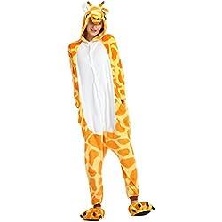 LATH.PIN - Camiseta de pijama - Manga larga - Mujer multicolor Giraffe S