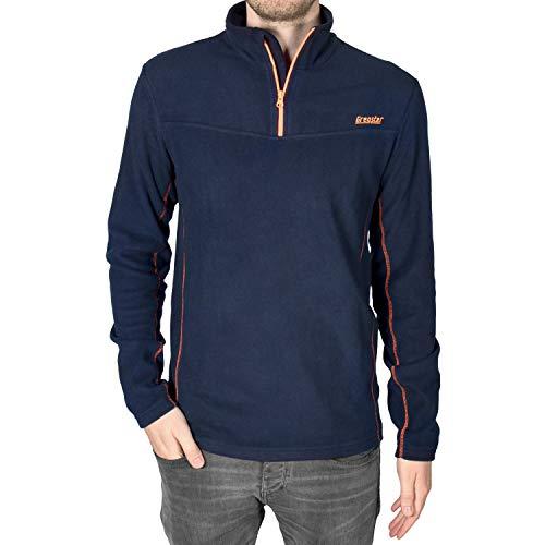 Gregster Herren Fleecepullover Baldo Sport-Sweatshirt ,navy ,XL Fitness-fleece-pullover
