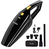 Handheld Vacuum Cleaner, Ymiko Cordless Car Vacuum Cleaner DC 12V 120W 6000PA Strong