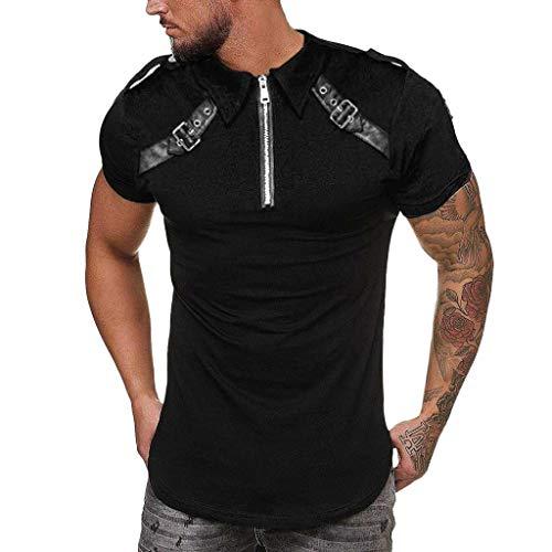 Camiseta para Hombre, YanHoo Tops de Impresión de La Moda de Verano de Los Hombres Camiseta de Manga Corta para Hombres