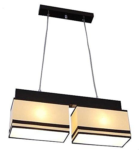Designer Decken Pendel Leuchte Lampe Deckenleuchte Küche Esszimmer Restaurant E27 Power LED Paris 11 (Paris 11c, Sockel-Wenge) -