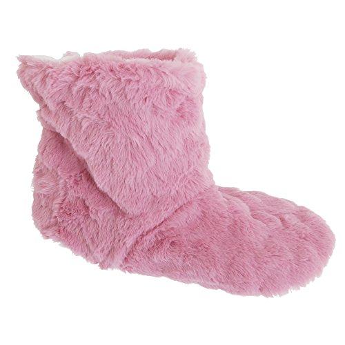 Toesters Damen Luxus Hausstiefel (37-40 EU) (Pink)
