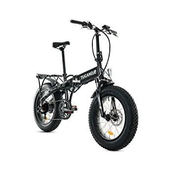 Tucano Bikes Monster HB Bicicleta Eléctrica Plegable, Verde ...