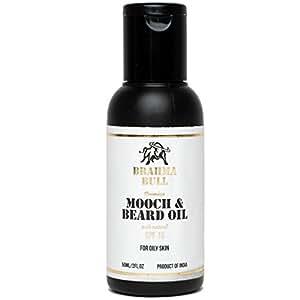 Brahma Bull Mooch & Beard Oil for Oily Skin