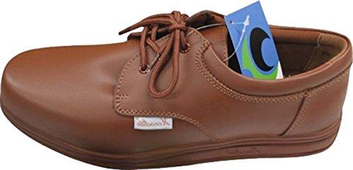 Henselite - Victory Bowls Erwachsenen Herren Schuhe Bowling Schuhe - Hellbraun, 40, Stoff und Leder