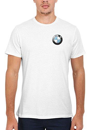 BMW Logo M Power/Tech Pocket Print Novelty Men Women Unisex Top T Shirt-XL (Womans Bmw Bekleidung)
