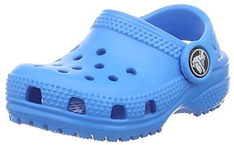 crocs Unisex-Kinder Classic Kids Clogs, Blau (Ocean), 34-35 EU