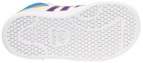 adidas - Top Ten Hi I, Scarpine primi passi Unisex – Bimbi 0-24 Bianco (Blanc (G63357))