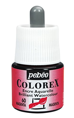 Colorex Aquarelltinte, Pet, Magenta, 4.5 x 4.5 x 7 cm