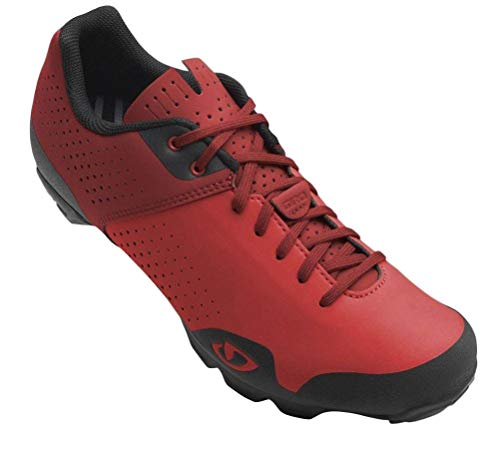 Giro Privateer Lace MTB Cycling Shoes 2019 44 Bright Red/Dark Red