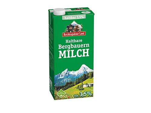Berchtesgadener Land Haltbare Bergbauern-Milch 3.5{b90677861a7613f96b244f4ba9a3b118af1d1918ac150b8e7648d09654e97b14} Fett, 1 l