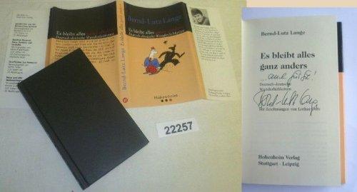 Bestell.Nr. 922257 Es bleibt alles ganz anders - Deutsch-deutsche Wunderlichkeiten