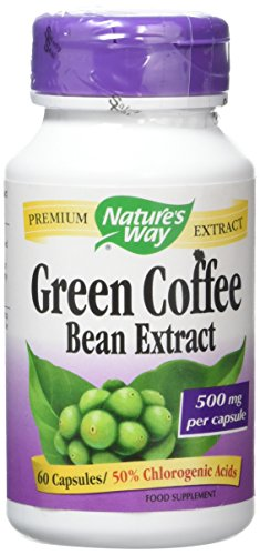 Nature's Way Green Coffee – Pack of 60 Tablets 41k4lWg6IhL