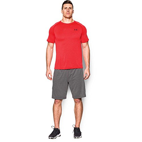 Under Armour UA Tech Ss Tee Herren Fitness - T-Shirts & Tanks, Rot Lapis Red, L