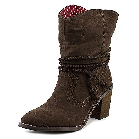 Rocket Dog Deputy Coast Women US 9.5 Brown Ankle Boot