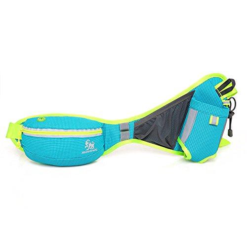【Sport Hüfttasche】 Hüfttasche zum Verstauen solcher Gegenstände, wie Handy, Schlüssel, MP3 Player, Portemonnaie usw PraktischTasche Perfekt für Laufen, Wandern Camping Radfahren Sport und Outdoor Akti (Hund Kleidung Lg)