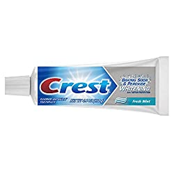 Crest Baking Soda And Peroxide Whitening Toothpaste Fresh Mint,130 G