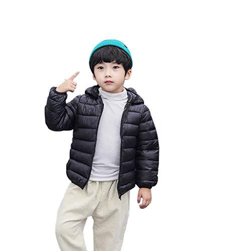 YueLove Winter Jungen Mädchen Kinder Wintermäntel Jacke Kinder Zip Dicke Ohren Schnee Hoodie Kleidung Fantasy-zip Hoodie
