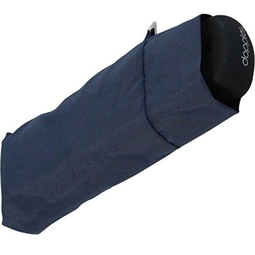 Doppler Regenschirm Mini Taschenschirm Handy (Navy-blau)