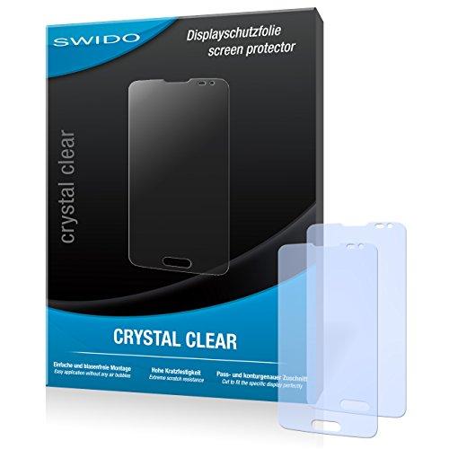 SWIDO Bildschirmschutz für LG L90 [4 Stück] Kristall-Klar, Hoher Härtegrad, Schutz vor Öl, Staub & Kratzer/Schutzfolie, Bildschirmschutzfolie, Panzerglas Folie